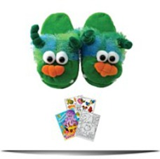 2215 Green Monster Slippers