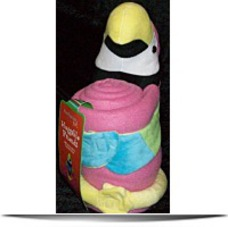 2 Plush Toys And Fleece Throws Parrot