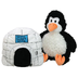 happy napper play pillow penguin igloo