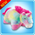pillow pets rainbow unicorn size -pillow