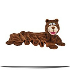 Cuddle Uppets Brown Bear Plush
