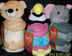 huggable friends plush toys fleece throws