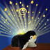 pillow pets dream lites playful penguin