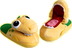 dino dinosaur pop-up-pals slippers x-small size